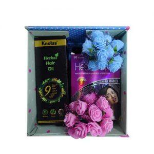 Knotss Ayervedic Herbal Hair Oil with HeadzUp Women 90 Tablet