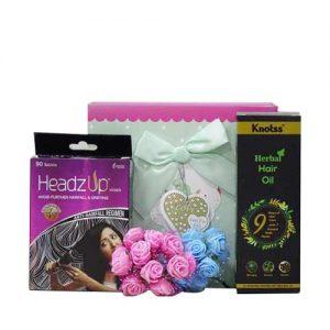 Knotss Ayurvedic Herbal Hair Oil with HeadzUp Women 30 Tablet