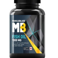 Muscleblaze Fish Oil Soft Gel Capsules