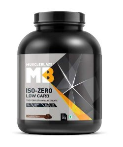 Muscleblaze Iso-Zero Low Carb (Chocolate Flavour)-2 Kg
