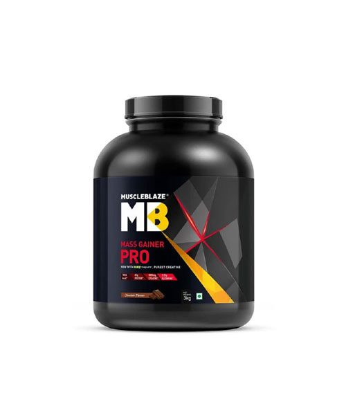muscleblaze mass gainer pro