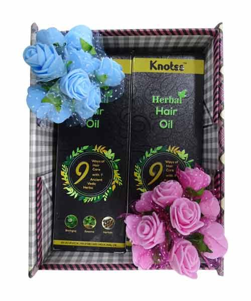 Knotss Herbal Hair Oil Gift Hamper