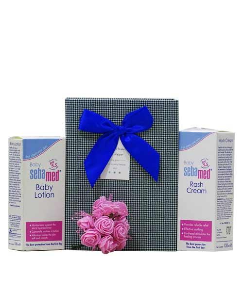 Sebamed Baby Lotion and Rash Cream for Babies (2x100ML)