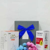 Vasu Trichup Nutri Shine Hair Serum with Acnovin Face Pack