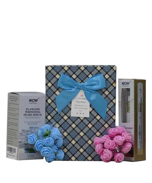 WOW Skin Science Eye Luscious with Fairness Pearl Serum Gift Hamper
