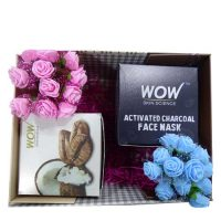 WOW Arabica Coffee Scrub & WOW Activated Charcoal Face Mask Gift Hamper