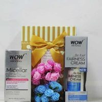 WOW Micellar Cleanser Makeup Remover with Fairness Cream Gift Hamper