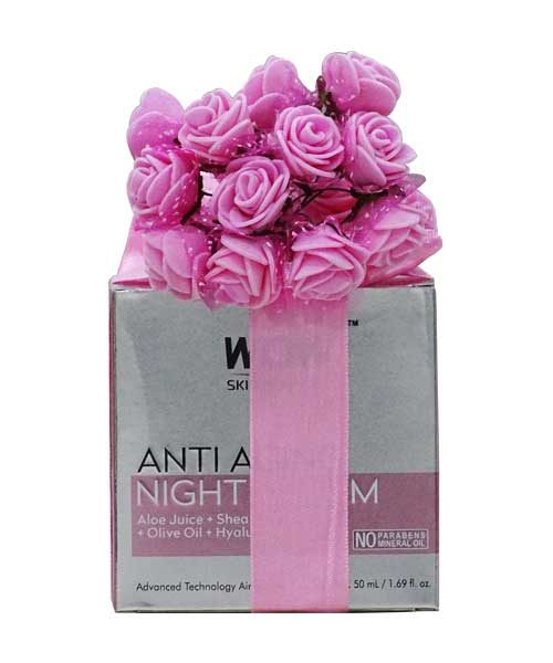 WOW Anti Aging Night Cream Gift Hamper