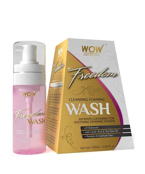 WOW Skin Science F&G Freedom Foam Wash