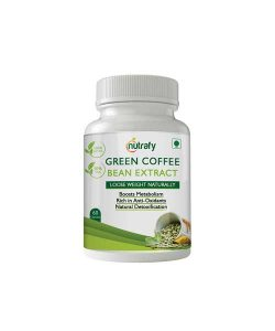 Nutrafy Pure Green Coffee Bean Extract 50% CGA 800 Mg 60 Capsules Weight Loss Supplement (Pack of 1)