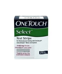 OneTouch Select Glucose 25 Test Strip