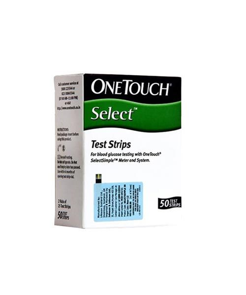 OneTouch Select Glucose 50 Test Strip