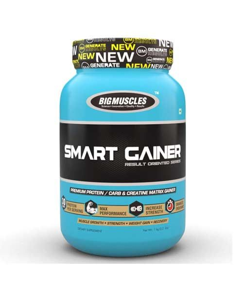 Big Muscle Strawberry Smart Gainer