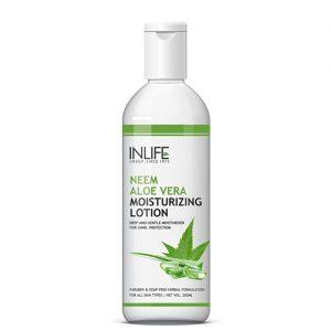 Inlife Natural Aloe Vera Neem Moisturizing Face Lotion