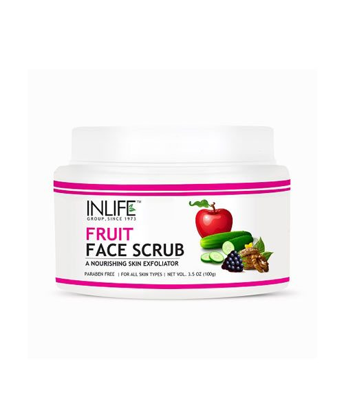 Inlife Natural Fruit Face Scrub
