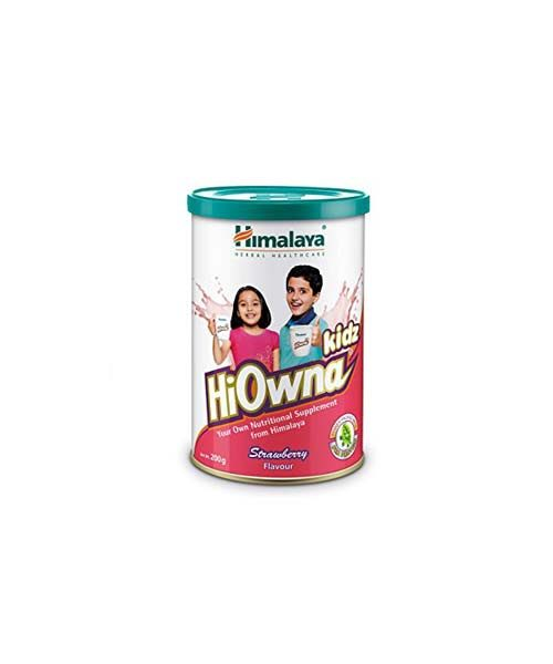 Himalaya Hiowna Kidz Strawberry Flavour 200 GM