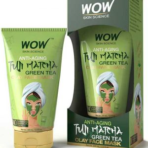 WOW Fuji Matcha Green Tea Clay Mask