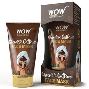 WOW Skin Science Chocolate Caffeine Face Mask