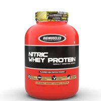 bigmuscles nitric whey strawberry