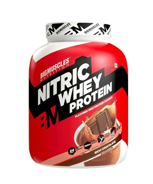 BigMuscles Nitric Whey Rich Chocolate