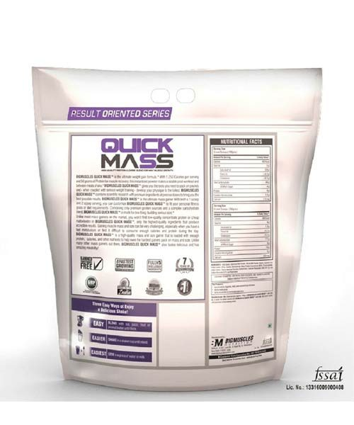 BigMuscles Quick Mass Gainer