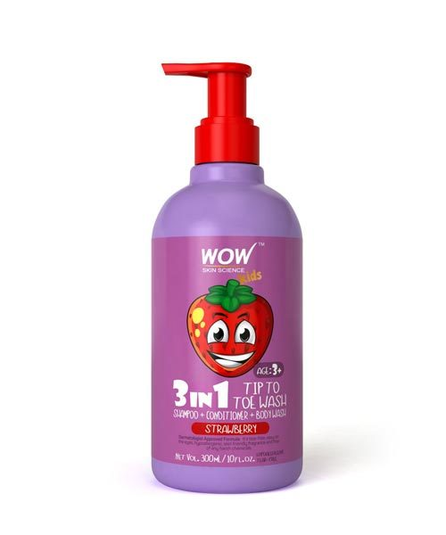 WOW Kids Tip to Toe Wash (Strawberry)