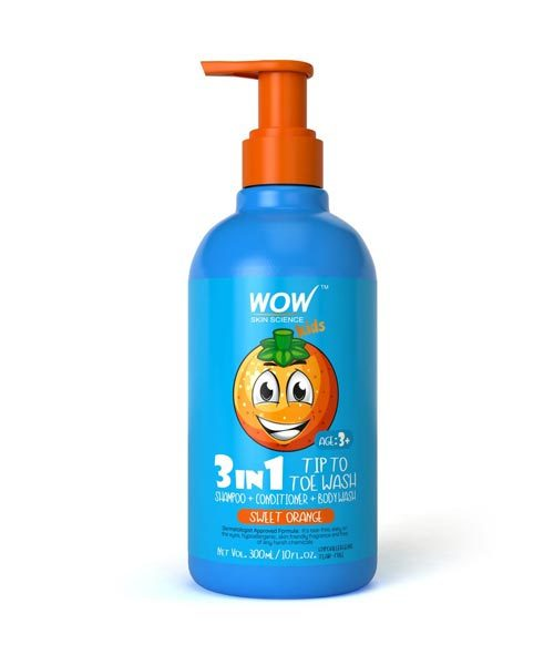 WOW Kids Tip to Toe Wash (Sweet Orange)