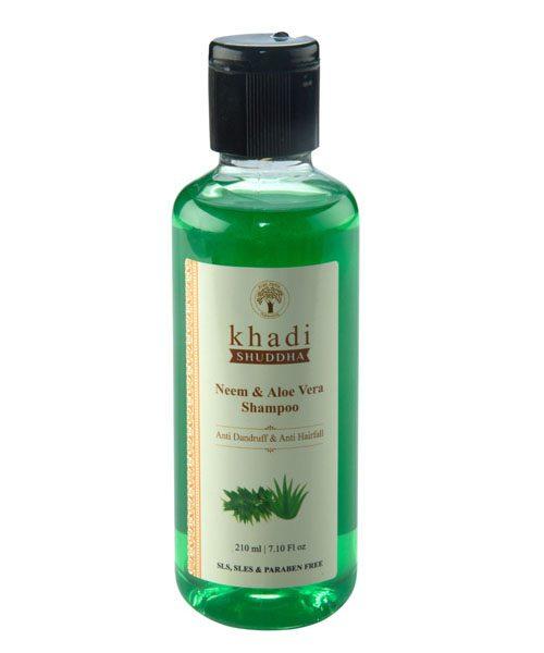 _0001_IKhadi Shuddha Neem & Aloe Vera Shampoo