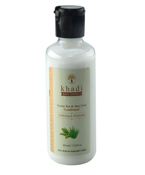 _0005_Khadi Shuddha Green Tea Aloe Vera Conditioner