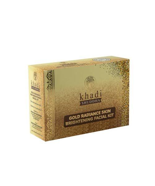 Khadi-Shuddha-Gold-Radiance-Skin-Brightening-Facial-Kit