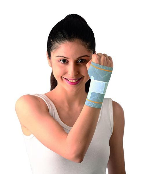 Vissco-Platinum-Wrist-Splint-Binder-with-Silicone-Pressure-Pad---Left-Hand
