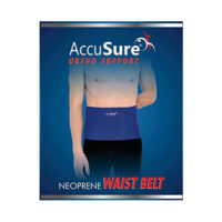 AccuSure Neoprene Waist Belt