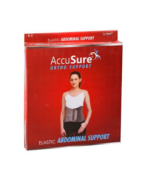 AccuSure Elastic Tummy Trimmer