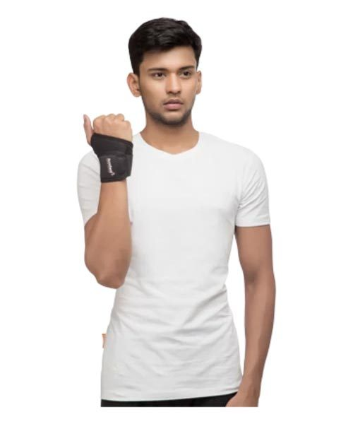 AccuSure Elastic Wrist Brace With Thumb