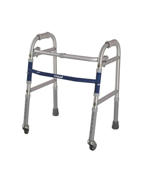 Vissco-Champ-Folding-Walker-with-Castors-Child