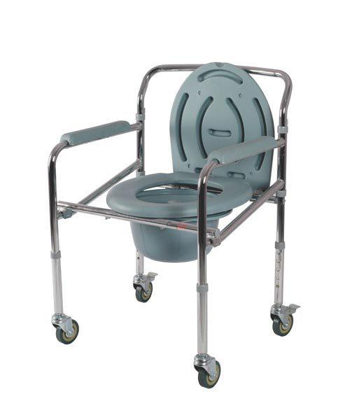 Vissco-Comfort-Steel-Folding-Commode-Chair-with-Castors