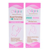 Vigini Bust Firming Cream and Vigini Erase Marks Massage Cream