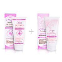 Vaginal Lubricating Cum Stimulating Gel with Vaginal Lightening Intimate Feminine Wash