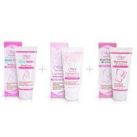 Vigini Stretch Marks Cream with Lightening Feminine Wash and Bust Firming Cream