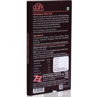 Zevic 70% Dark Belgian Chocolate (Himalayan Pink Salt and Stevia)