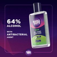 Raho Safe Gel Hand Sanitizer
