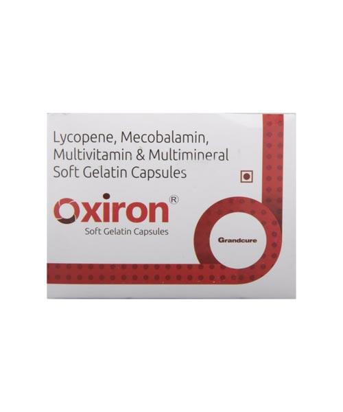 Oxiron-Softgel-Capsule