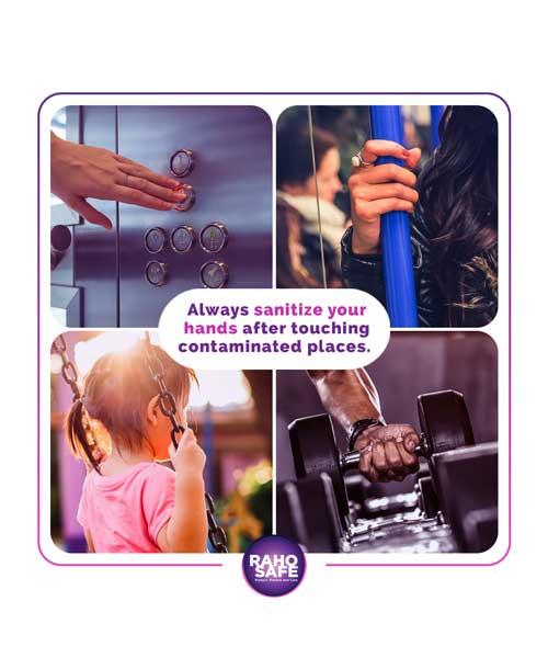 Raho Safe Gel Hand Sanitizer