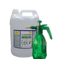 Cleanso Disinfectant Spray With Pump Sprayer