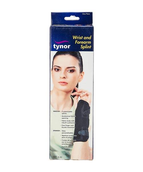 Tynor-E-03-Wrist-&-Forearm-Splint-Ring--Left---L-M-S-XL