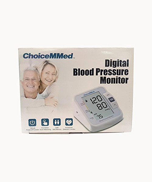 Choicemmed Digital Blood Pressure Monitor (CBP1E1)