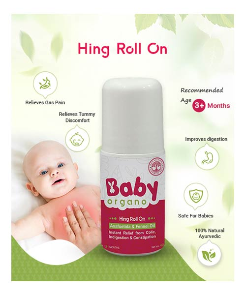 Baby Organo Hing Roll On