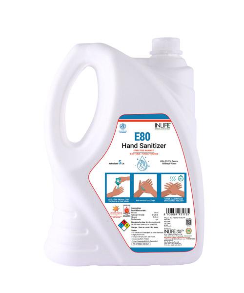 INLIFE-E80-Hand-Sanitizer-80%-Ethanol-(Ethyl-Alcohol)-Based-Sanitizer,-WHO-Recommended-Formulation-–-5-Litre-1