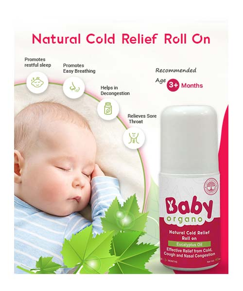 Baby Organo Natural Cold Relief Roll on