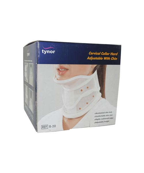 Tynor-B-20-Cervical-Collar-Hard-With-Chin---Small